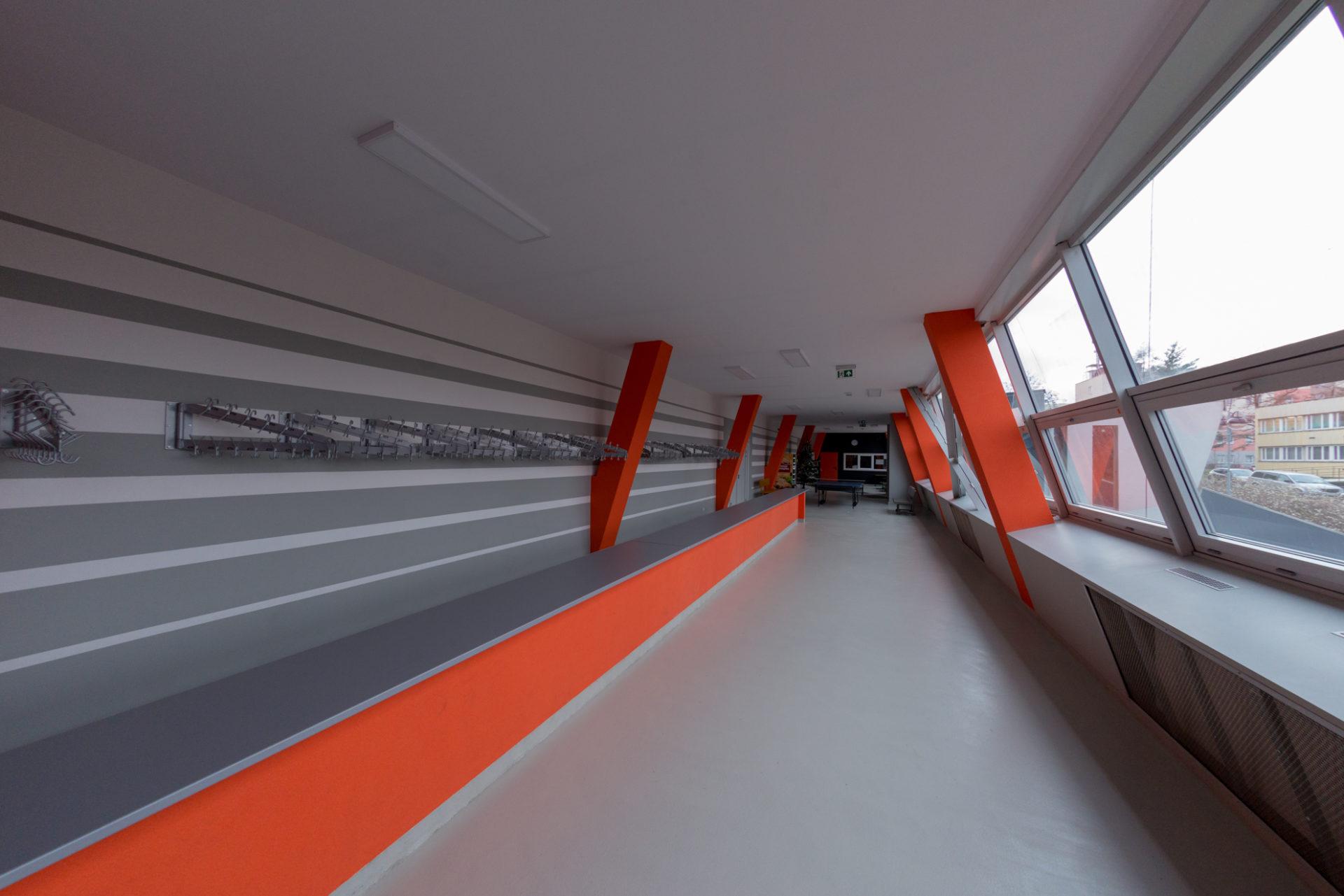 Zdjęcie hali sportowej ZS Libiąż
